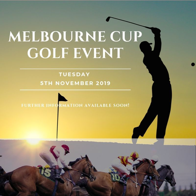 Melbourne Cup Golf Day