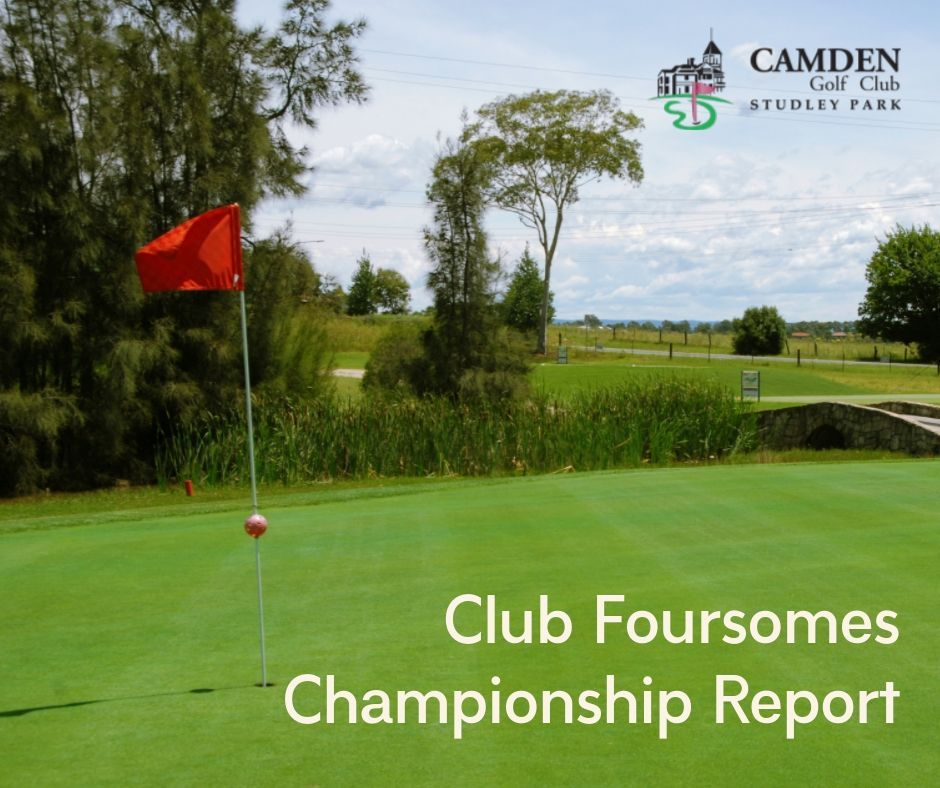 Club Foursomes Championship Report